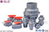 Fábrica plástica de la vávula de bola del PVC de la alta calidad