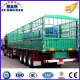 Горячие Tri-Axles сбывания 50 тонн трейлера груза животного перехода поголовья коль загородки общего назначения на умеренной цене