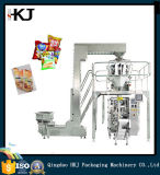 Empaquetadora de pesaje vertical automática de la alta calidad para el alimento soplado