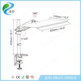 Elevación de gas Ponte de pie de estación de trabajo / soporte de monitor con el teclado (JN-WS14)