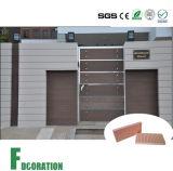 Porta composta impermeável Eco-Friendly de WPC com o painel de parede de WPC