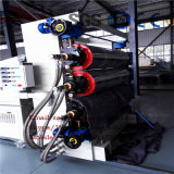 La cadena de producción libre de la tarjeta de la espuma del PVC PVC plástico del estirador de la maquinaria libre hizo espuma tarjeta que hizo espuma la línea de la protuberancia línea máquina de la protuberancia de la tarjeta de /Extruder