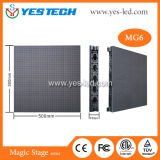 P3.9 Curve Indoor Rental LED Display Panel pour publicité / Stage