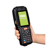 Android terminal dos dados Handheld ásperos com 3G e varredor do código de barras