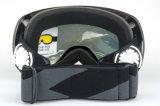 De beschermende Beschermende brillen van de Sneeuw van de Ski met de Verwisselbare Lens van PC