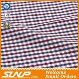 Tre colori hanno tinto il tessuto di cotone del jacquard per le camice
