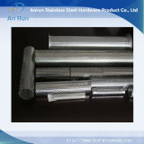 Areia de tubo de metal perfurado mobiliado para filtro de óleo