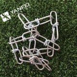 Double chaîne de boucle de l'acier inoxydable 316