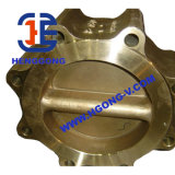Linha de bronze do petróleo da água de API/DIN/válvula de globo soldada