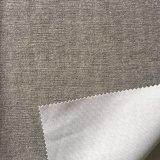 Tissu estampé par velours de tricotage