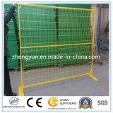 Frontière de sécurité provisoire du Canada de qualité/frontière de sécurité en métal