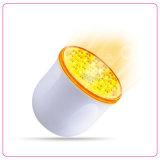 La machine de thérapie d'éclairage LED de couleur du rajeunissement 4 de peau de l'utilisation à la maison la plus chaude DEL avec la vibration de 2 degrés