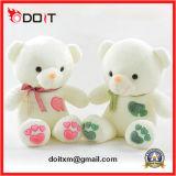 Urso da peluche dos pares do coração do amor das cores do presente 2 dos Valentim