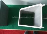 Aluminium Rechthoekige Buis/kokerprofie-Aluminium het Profiel van het Buizenstelsel van Sqaure