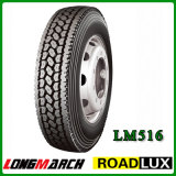 Pneumático do PONTO, pneumático em Amercia, pneumático sem câmara de ar do caminhão do caminhão pesado (11R22.5 11R24.5)
