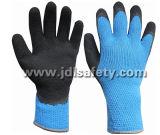 Одобренная Ce Hi-Viz акриловая перчатка работы с покрытием пены латекса (LY2035B)