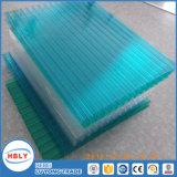Folha de policarbonato decorativo de 4-Layer Fireproof Abrasion Ceiling Crystal Highway