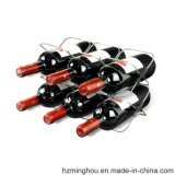 Estante práctico 4 o del vino del alambre del nuevo diseño estante de la botella de vino 6