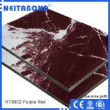 벽면을%s 고품질 돌 알루미늄 합성 위원회