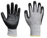 Couper le gant résistant de travail avec des nitriles de mousse (NDF8032)