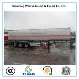 중국 공장에서 반 고품질 40000L 기름 연료 유조선 트레일러
