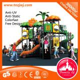Patio al aire libre de los niños plásticos del teatro de los juegos del parque de Amusment