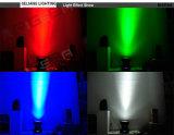 25X10W 무한 행렬 곁눈 가리개 RGBW LED 이동하는 헤드 DJ는 점화한다