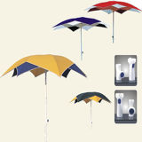 Double parapluie de couleur, parapluie de plage, parapluie de Sun (SY2012)