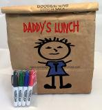 Bolsa de papel de Kraft del alimento/bolso del caramelo/bolso de la promoción