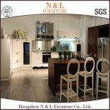 N&L Keukenkast van de Esdoorn van het Ontwerp van het meubilair de Modulaire Stevige Houten Eenvoudige