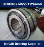 Mcgill dichtete kugelförmiges Rollenlager Sb22211 W33ss