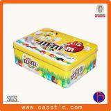 Sqaure Geschenk-Zinn-Kasten für Plätzchen und Süßigkeit