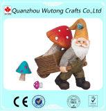 Выполненное на заказ украшение сада напольные подарки смешные статуи Gnome сада смолаы