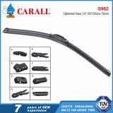 Carall S982 Hot 2017 Brand New Super Plus Vision Saver Pára-brisas Clear View Exclusive Speed ​​Flat Soft Wiper Blade