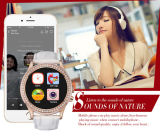 Bluetooth 4.0, Support Ios 및 Android System를 가진 형식 Diamond Smart Watch