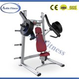 운동 Arm와 Shoulder 근육 Chest Shoulder는 Commercial Gym Fitness Equipment를 누른다 Indoor
