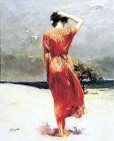 Peinture à l'huile d'impressionisme (001)