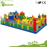 Fournisseur professionnel Giant gonflable Slide Playground, piscine gonflable à vendre