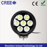 12V / 24V 6inch 70W 7X10W CREE Luz de trabalho LED para 4X4