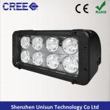 12V-24V 80W 5600lmのクリー族LED機械作業ランプ