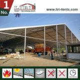 40m x 100mのインドの展示会のための5mの側面の高さの明確なスパンのテント/格納庫のテント