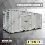 410kVA 50Hz schalldichter Dieselgenerator angeschalten von Cummins (SDG410CCS)