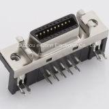 Rechtwinkliger SCSI weibliche Verbinder