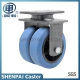 "De "" roda resistente super de nylon do rodízio do giro do núcleo ferro 6"