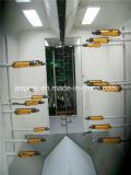 A cabine eletrostática do revestimento de pulverização do pó com recicl o sistema do pó