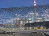 Het RuimteFrame van het staal voor de Loods van de Steenkool