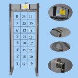 Caminata a través de la puerta del detector de metales para 24 zonas de Detaing