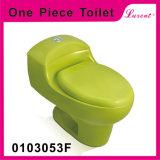 Toilette vidante duelle d'une seule pièce de Siphonic de courroie de porcelaine d'Econormic