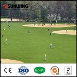 césped artificial verde material de la hierba del campo de deportes del PE de 50m m al aire libre