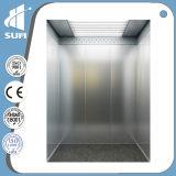 Ascenseur commercial de passager de construction avec la pièce de machine